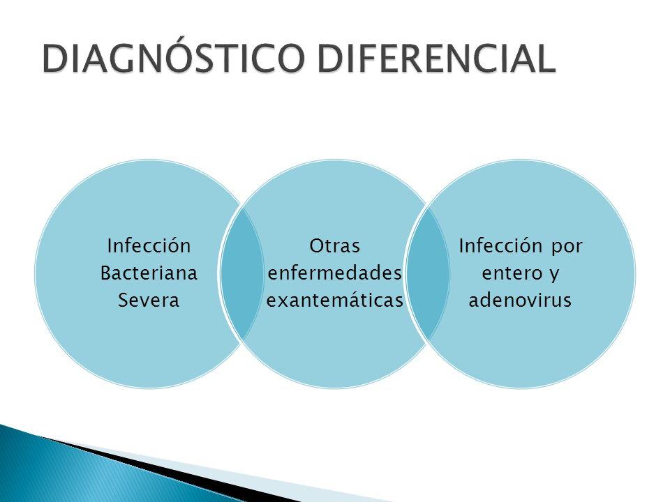 Convulsiones febriles Enfermedad grave diseminada adenopatía, hepatoesplenmegalia.