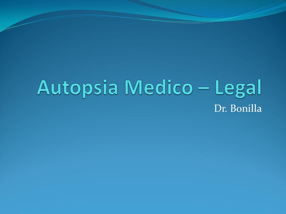 Dr. Bonilla