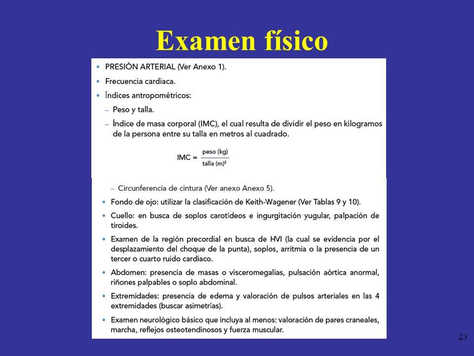 23 Examen físico