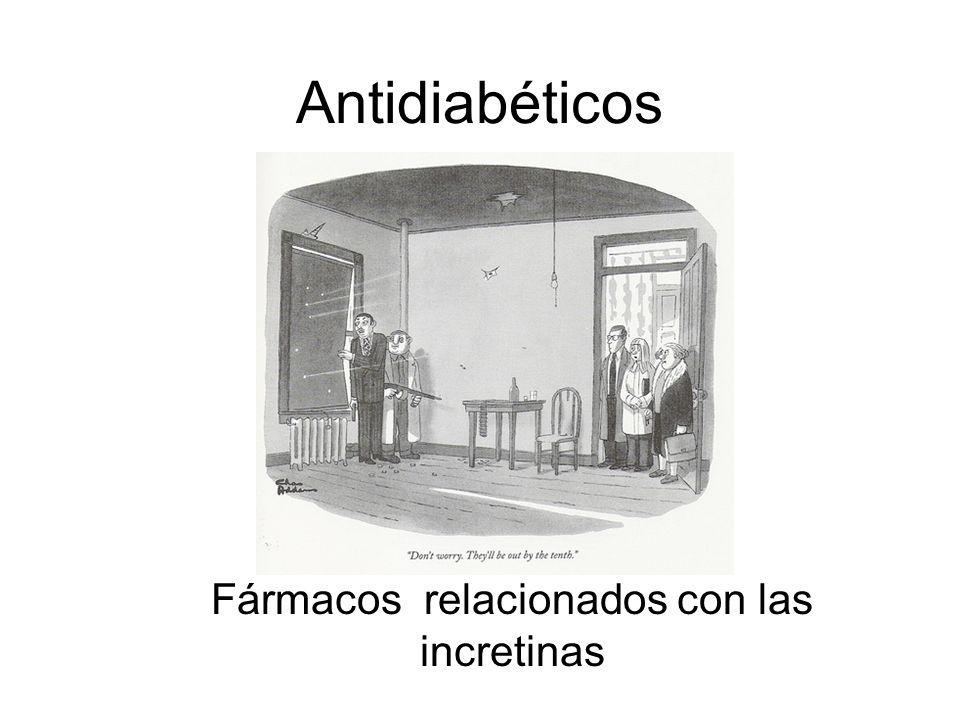 Antidiabéticos Fármacos relacionados con las incretinas
