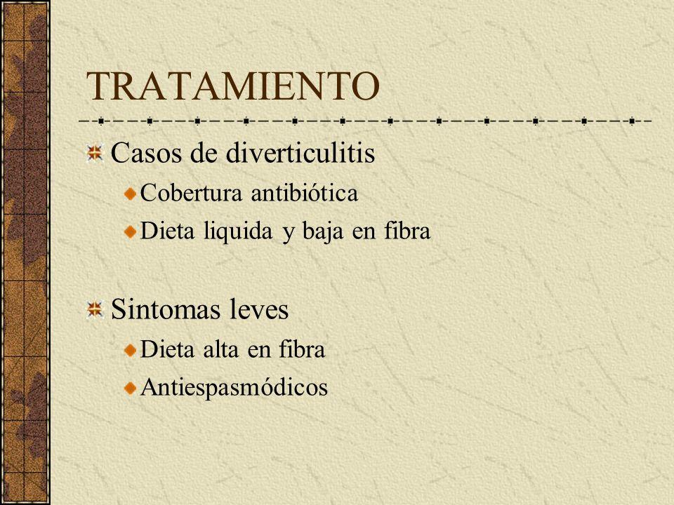 COMPLICACIONES PERFORACIÓN HEMORRAGIA Manejo quirúrgico 3-5% Requiere determinar sitio sangrado Estudios radioisótopos Colonoscopía Arteriografía