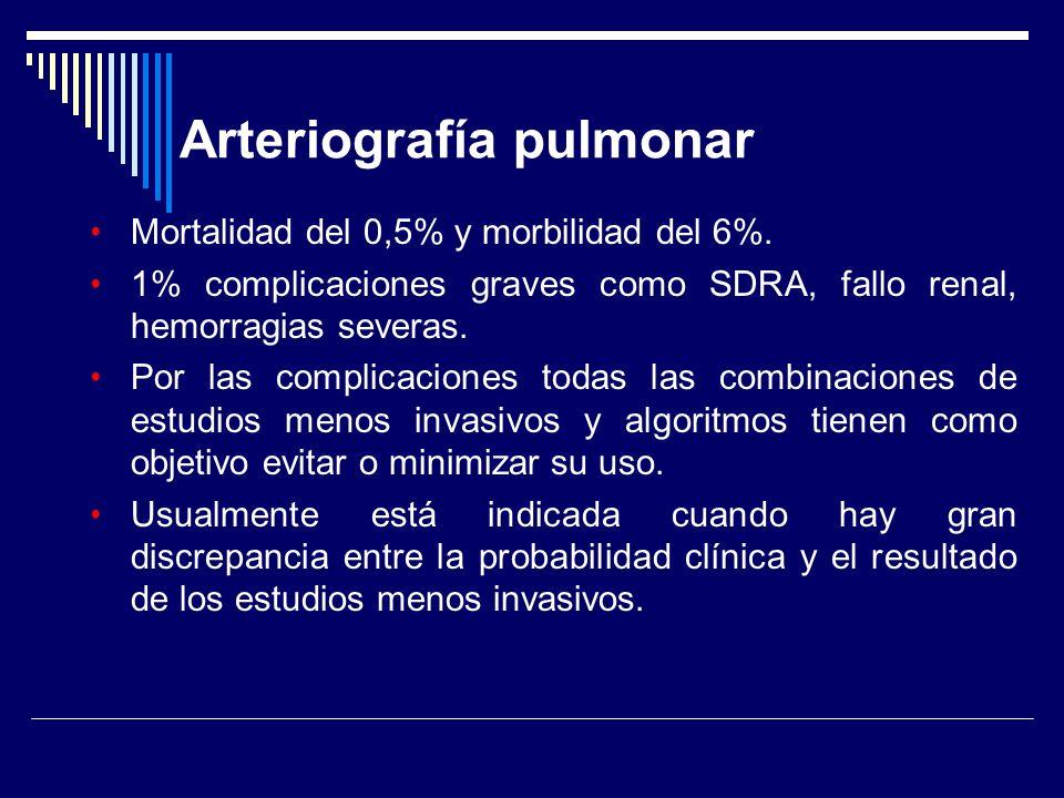 Mortalidad del 0,5% y morbilidad del 6%. 1% complicaciones graves como SDRA, fallo renal, hemorragias severas. Por las complicaciones todas las combin