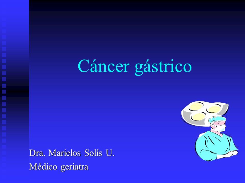 EPIDEMIOLOGÍA Ocupa el segundo lugar de todos los tumores malignos en el mundo.