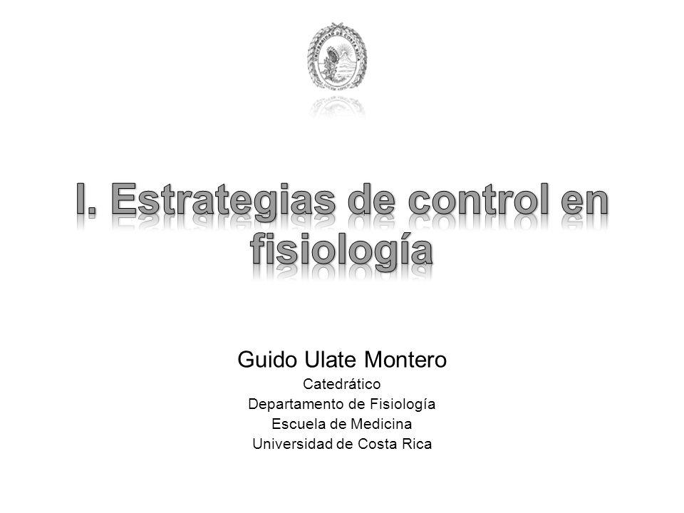 Guido Ulate Montero Catedrático Departamento de Fisiología Escuela de Medicina Universidad de Costa Rica