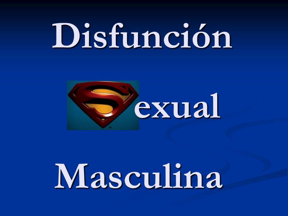 Disfunción Masculina exual