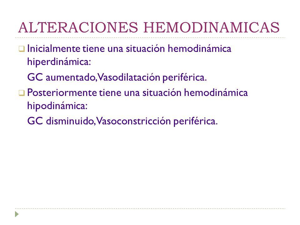 TRATAMIENTO Antibioticos. Quirúrgico Manejo hemodinámico: Fluidos. Agentes vasoactivos. Otros.