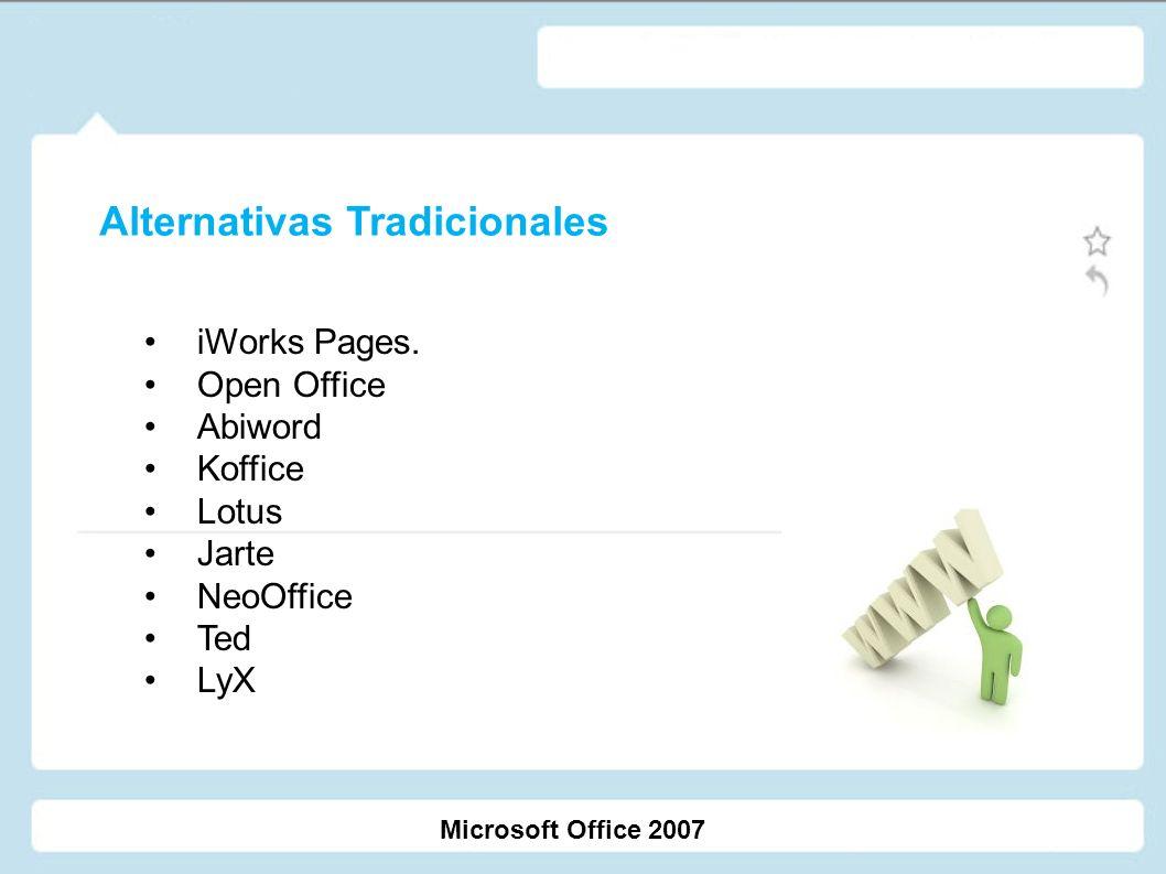 Google Docs Soho Adobe Buzzword J2E Ajax Write Microsoft Office 2007 Alternativas No Tradicionales