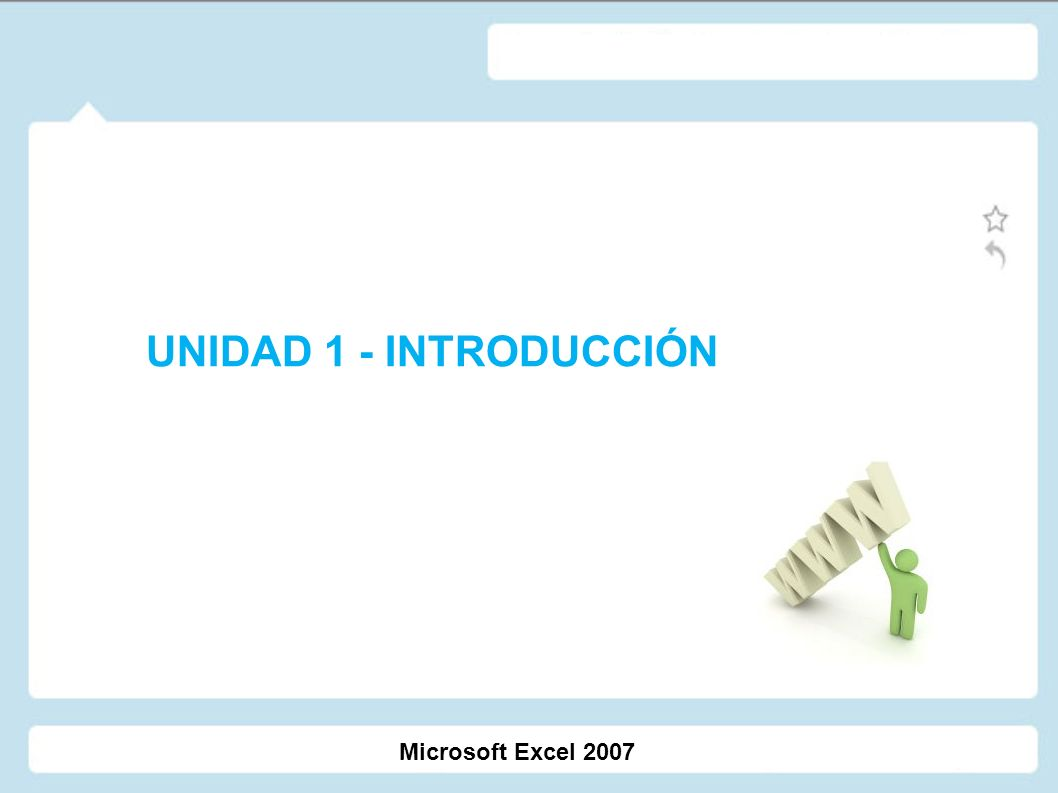 Programa Crear una hoja de cálculo 1.¿Qué es Excel?.