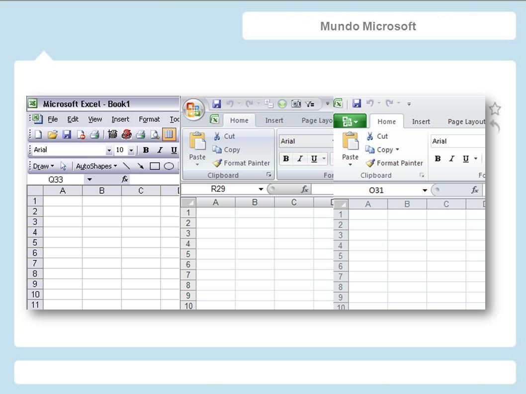 ¿Existen Alternativas? Microsoft Excel 2007 Numbers OpenOffice GNumeric KSpread