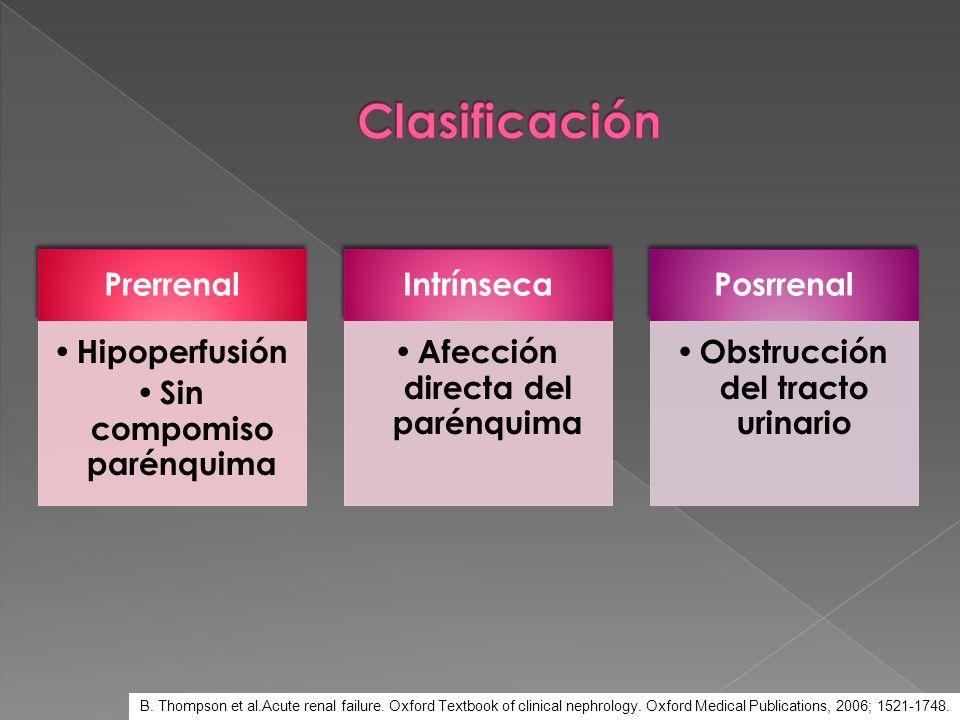 4.Obstrucción vasculorrenal Obstrucción de la arteria renal Obstrucción de la vena renal 5.