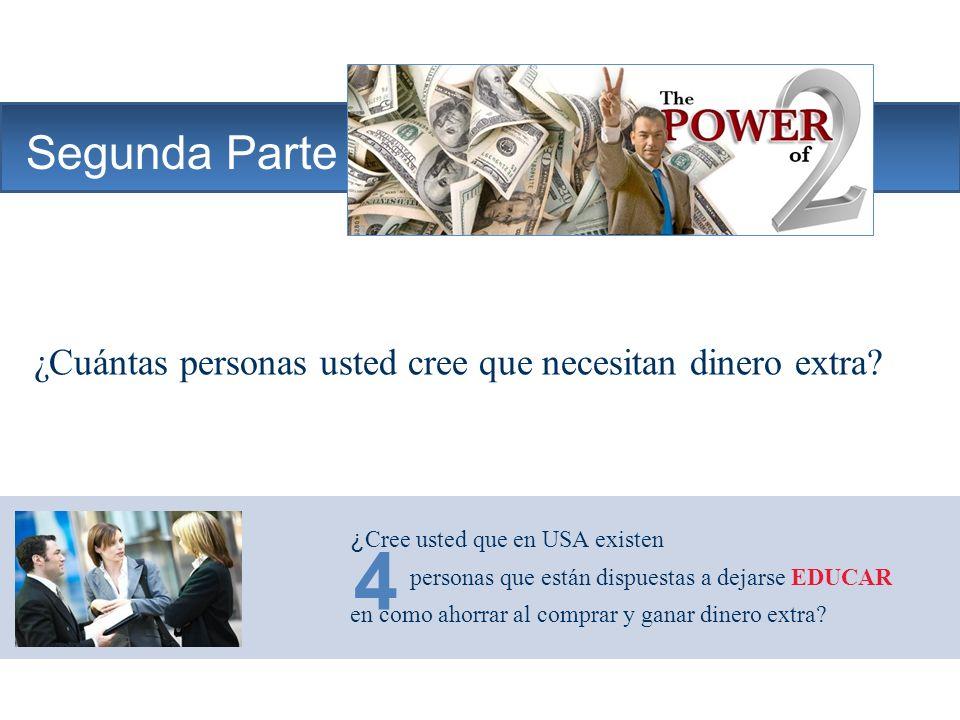 The Company Segunda Parte ¿Cuántas personas usted cree que necesitan dinero extra.
