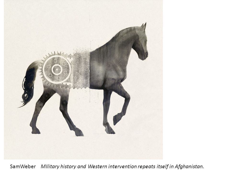 SamWeberMIlitary history and Western intervention repeats itself in Afghanistan.