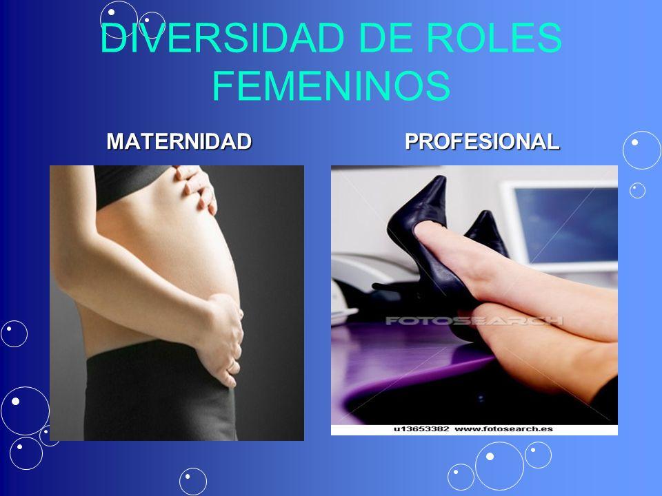 DIVERSIDAD DE ROLES FEMENINOS MATERNIDADPROFESIONAL