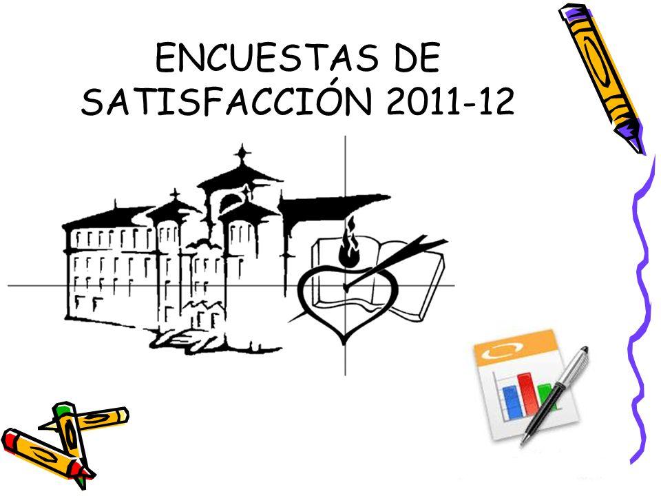 Encuestas de satisfacción 2011-12 Nº.
