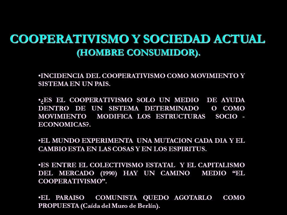 DOCTRINA COOPERATIVA 1.-PROGRAMA DE GIDE como un ideal para llegar a la llamada República Cooperativa. 2.-Para lograr por lo menos el Sector Cooperati