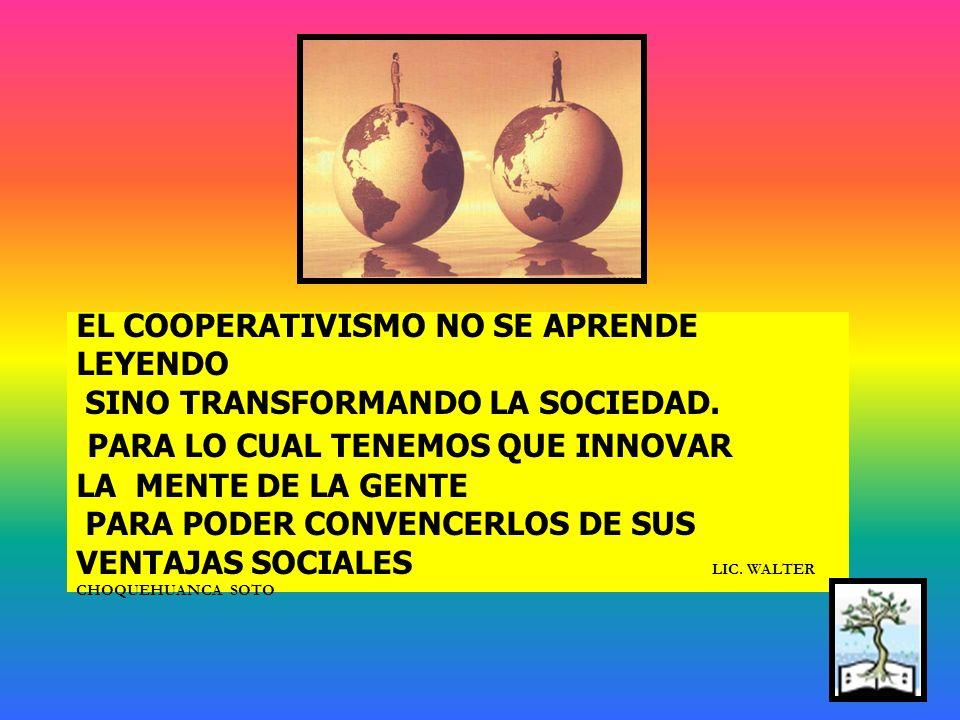 Despertando la virusideacoop : El renacer del Modelo Cooperativo en la sociedad peruana, pasa por realizar una estrategia de marketing de: boca en boc