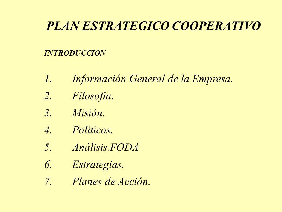 1.Dependencia Externa. 2.Información Financiera Confusa. 3.Productos y Servicios no competitivos. 4.Imagen Pública Deslucida. 5.Operaciones Financiera