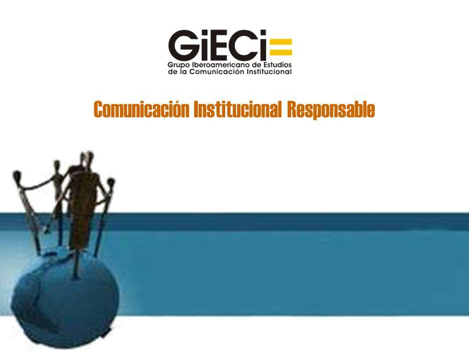 Comunicación Institucional Responsable