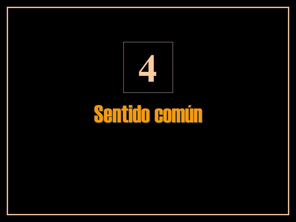 Sentido común 4
