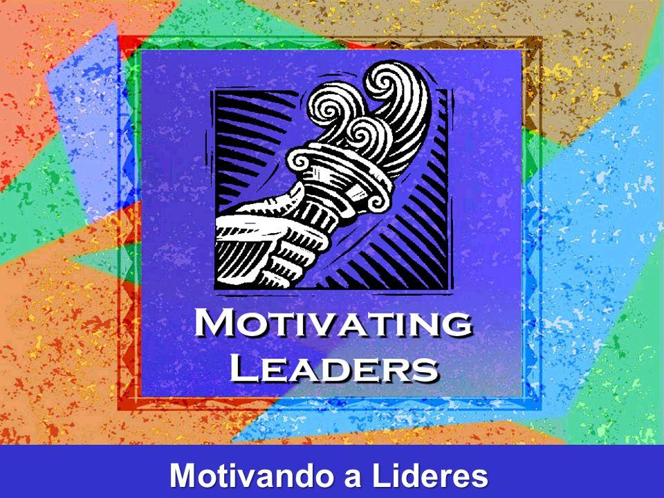 ¿Cómo puede un lider o pastor motivar a otros.