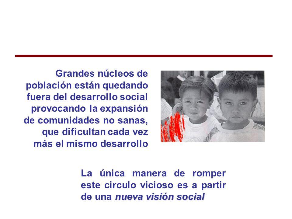 Más de 30,000 niños por día (1250 por hora, 20 por minuto) mueren en el mundo por causas fundamentalmente prevenibles.