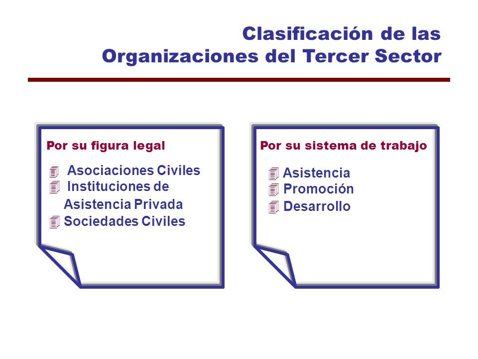 Impacto de las Organizaciones de la Sociedad Civil 4Atienden problemas a los que no llega el gobierno 4Respuesta flexible, ágil, eficiente y eficaz 4N