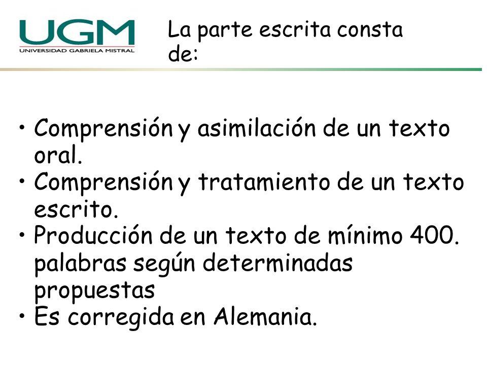 4.Comunicación Oral Tiempo 40 minutos (preparación: 20 minutos y exposición 20) Monólogo apoyao material visual