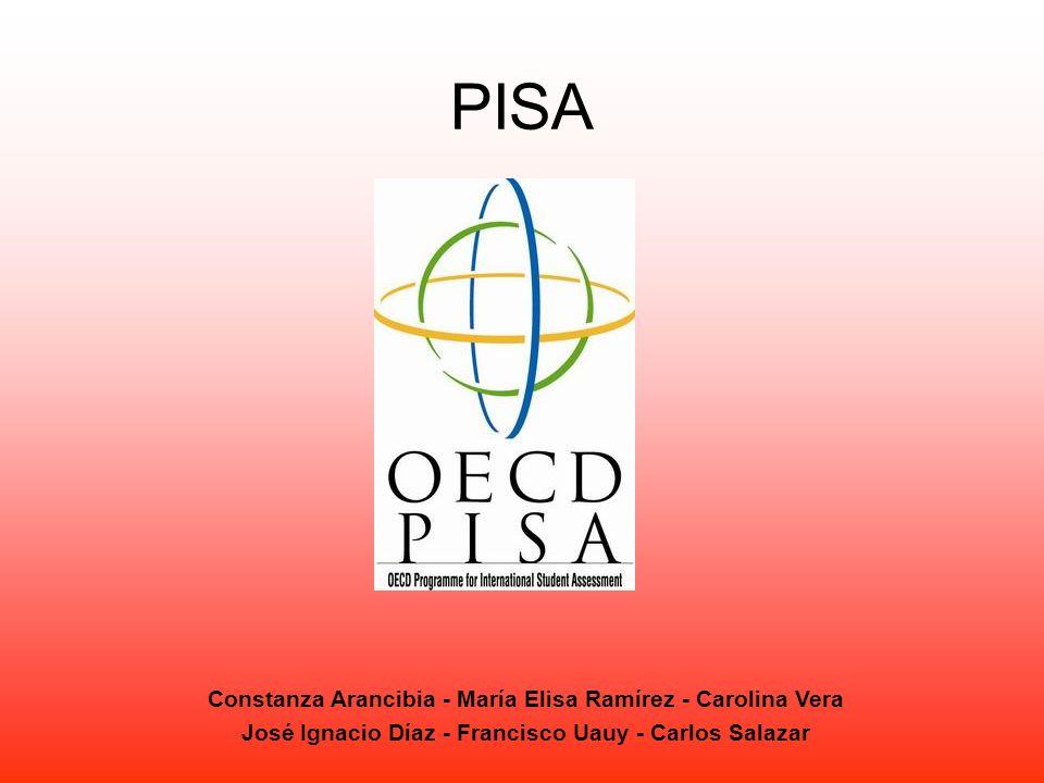 PISA Constanza Arancibia - María Elisa Ramírez - Carolina Vera José Ignacio Díaz - Francisco Uauy - Carlos Salazar