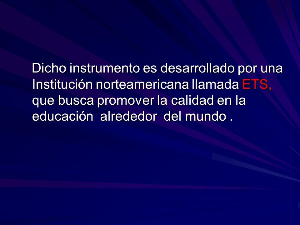 ¿CUÁLES SON LOS OBJETIVOS DEL TOEFL.1.