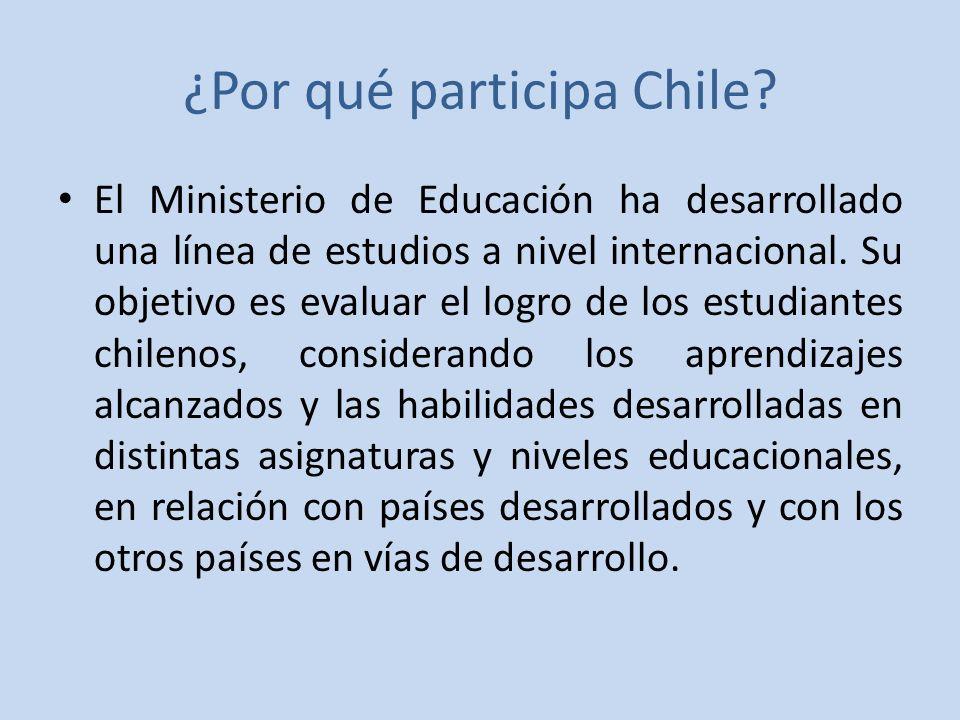 ¿Por qué participa Chile.