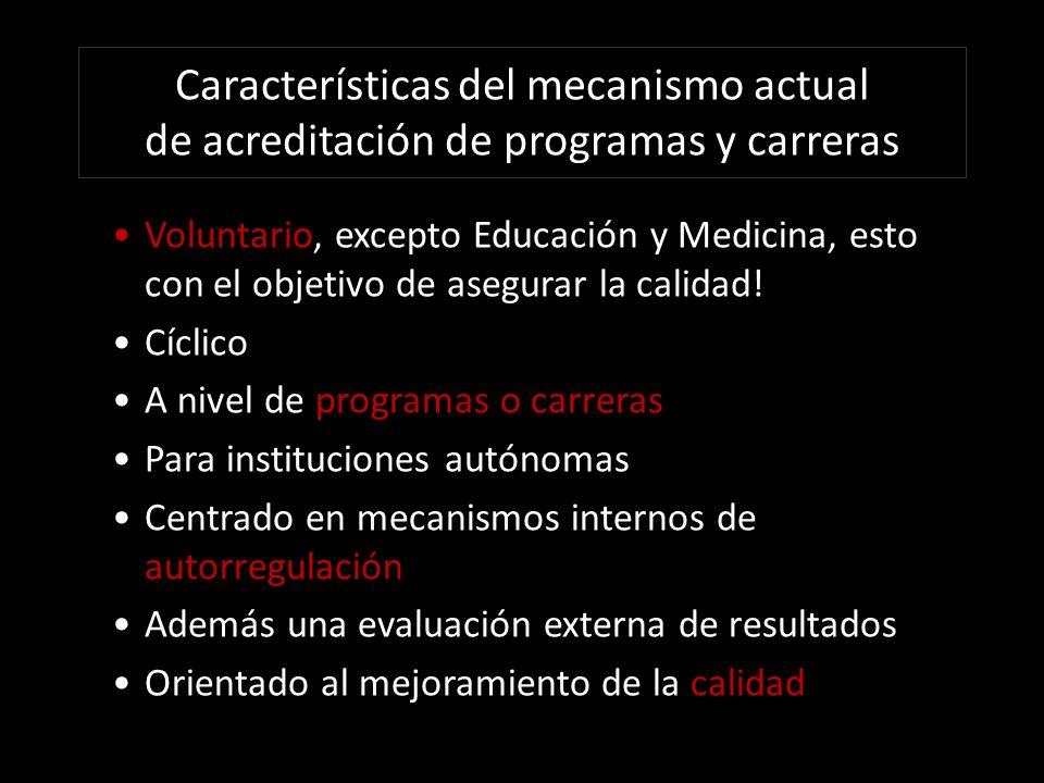 Impacto Josefina Aragoneses A.1. Encuentra positivo que las universidades se autoevalúen.