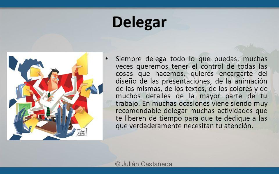 Espero te haya gustado mucho esta presentación, si quieres más material y recursos gratuitos para mejorar la organización de tu vida visita http://www.DominaTuVida.com http://www.DominaTuVida.com Att, Julián Castañeda