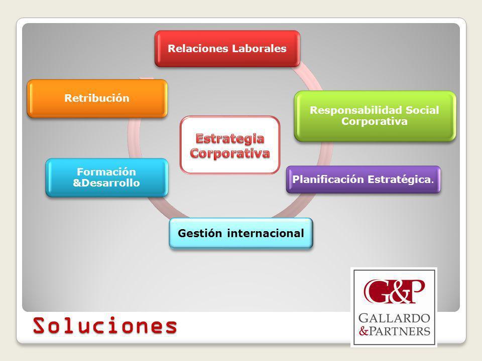 Relaciones Laborales Responsabilidad Social Corporativa Planificación Estratégica.