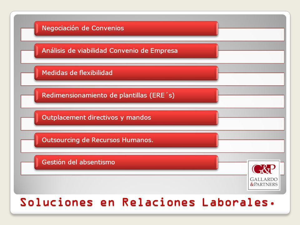 Soluciones en Relaciones Laborales.