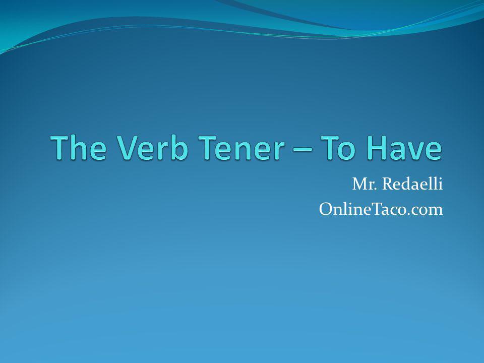 Mr. Redaelli OnlineTaco.com