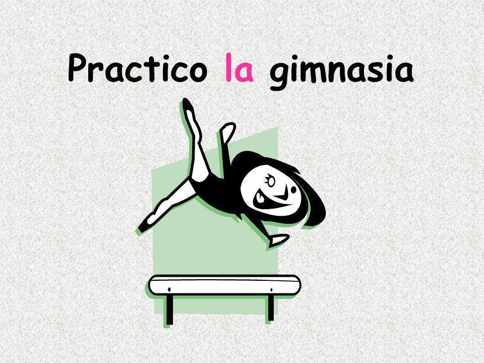 Practico la gimnasia
