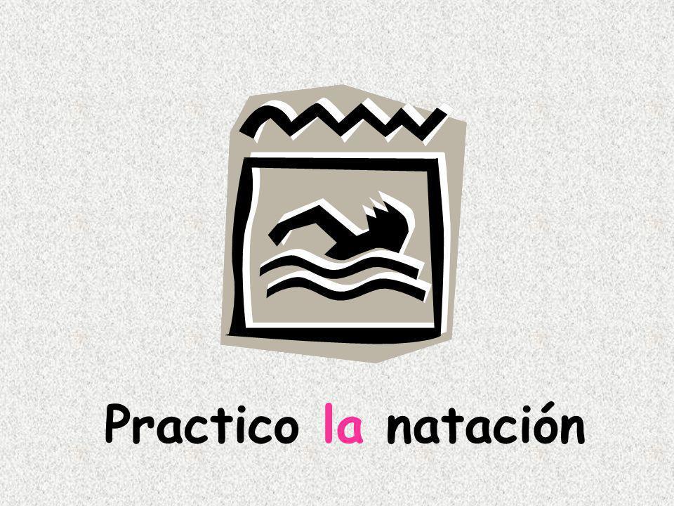 Practico la natación