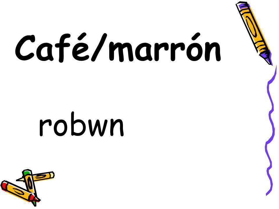 Café/marrón robwn