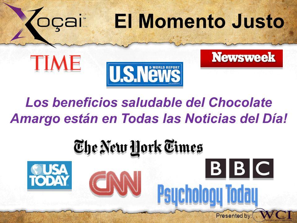 Los beneficios saludable del Chocolate Amargo están en Todas las Noticias del Día! El Momento Justo Presented by: