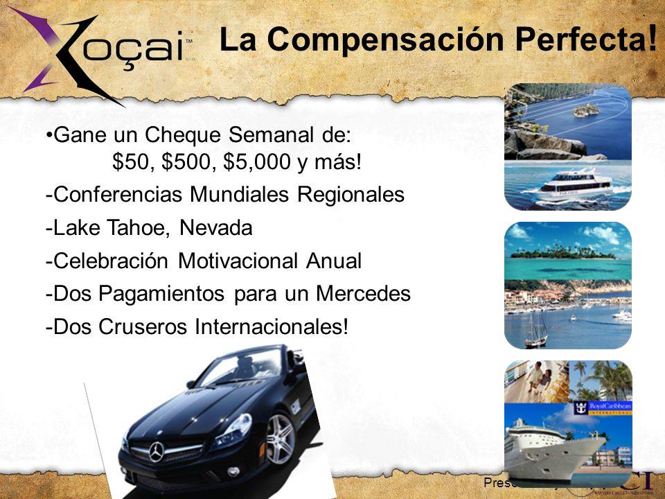 La Compensación Perfecta ! Gane un Cheque Semanal de: $50, $500, $5,000 y más! -Conferencias Mundiales Regionales -Lake Tahoe, Nevada -Celebración Mot