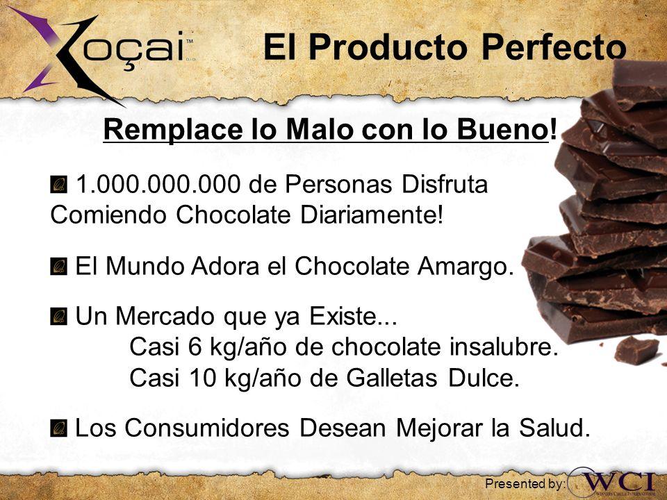 El Producto Perfecto Remplace lo Malo con lo Bueno! 1.000.000.000 de Personas Disfruta Comiendo Chocolate Diariamente! El Mundo Adora el Chocolate Ama