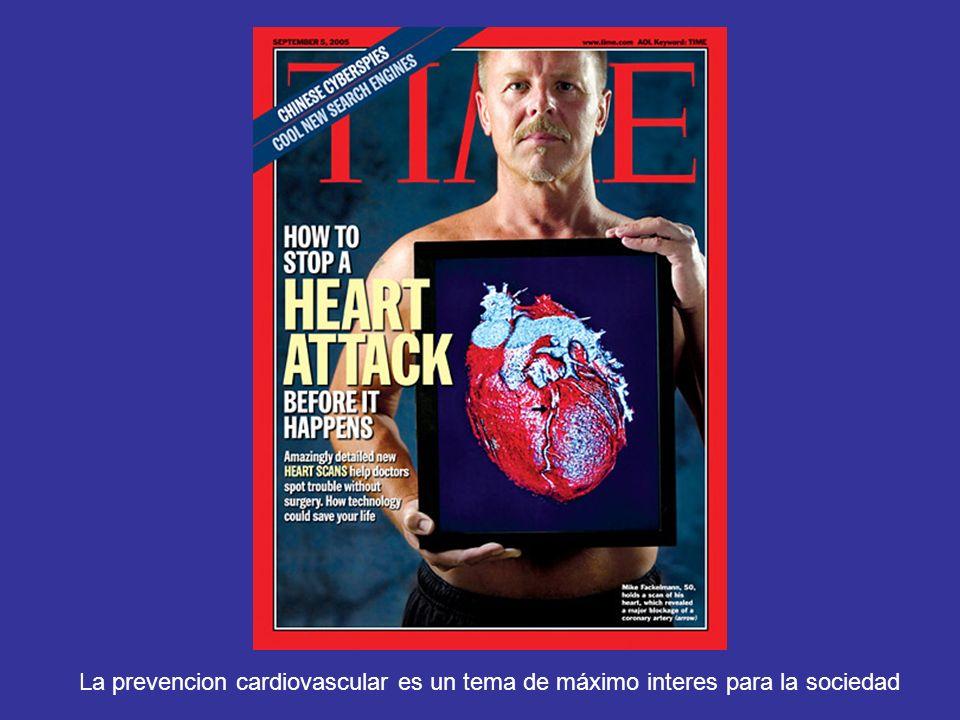 La prevencion cardiovascular es un tema de máximo interes para la sociedad