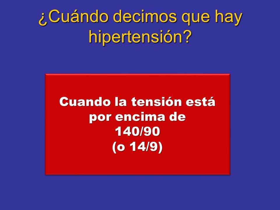 ¿Por qué es mala la hipertensión.
