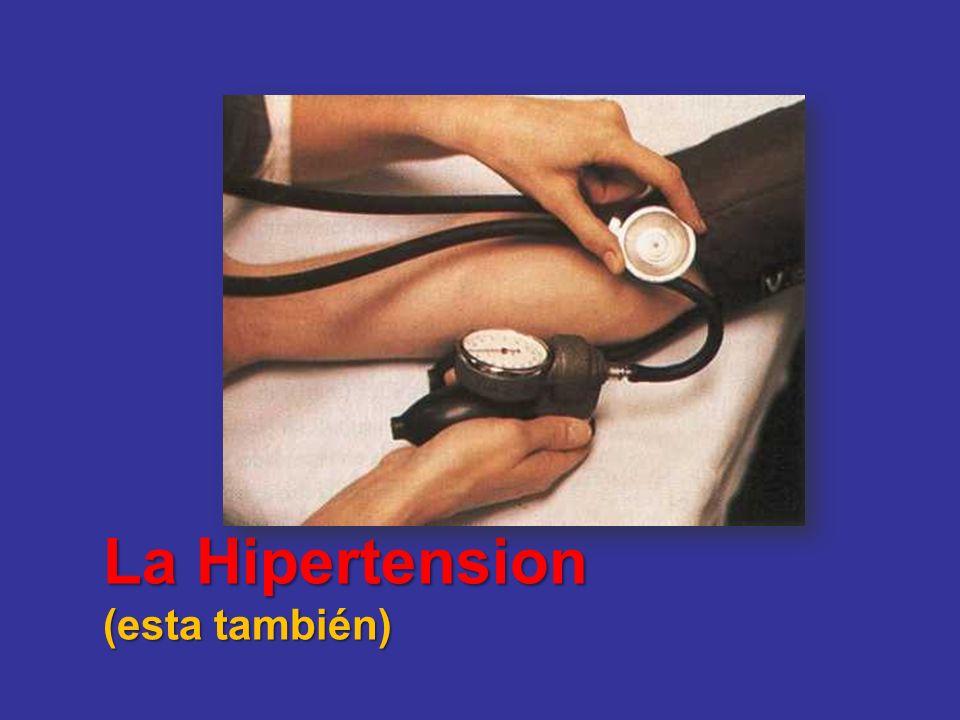 La Hipertension (esta también)