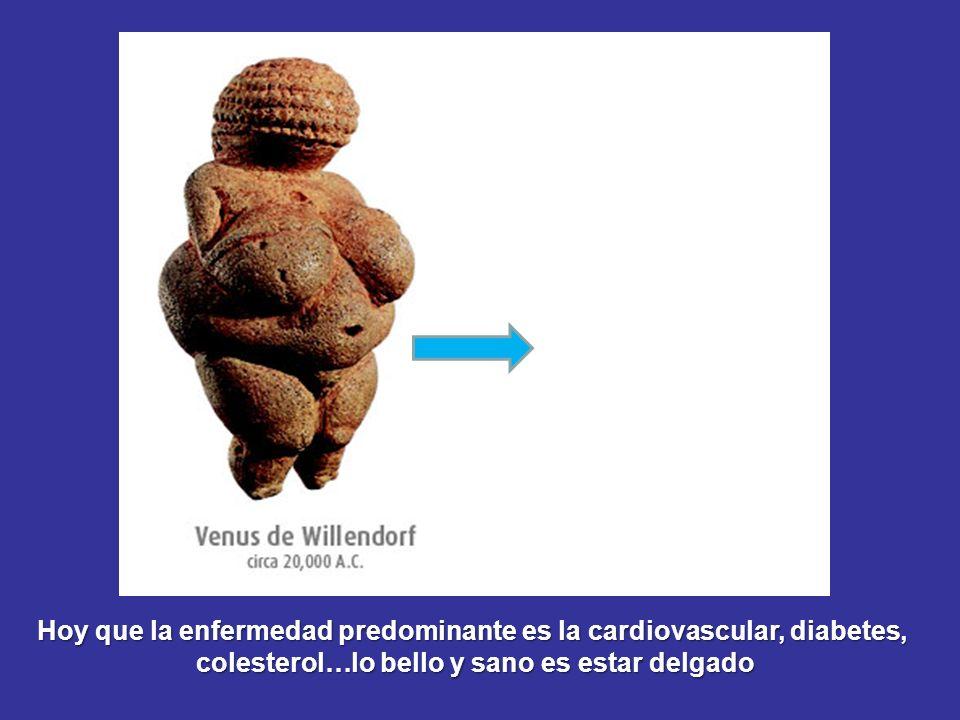 ¡La obesidad era incluso un reclamo publicitario!
