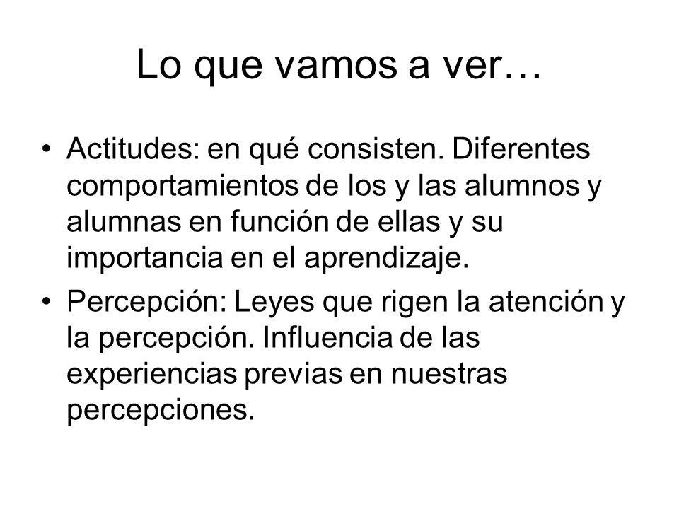 Tema 5: APRENDIZAJE Concepción cognitiva: -Aprendizaje de recepción (Ausubel): El aprendizaje debe tener lugar a través de la recepción, no del descubrimiento.