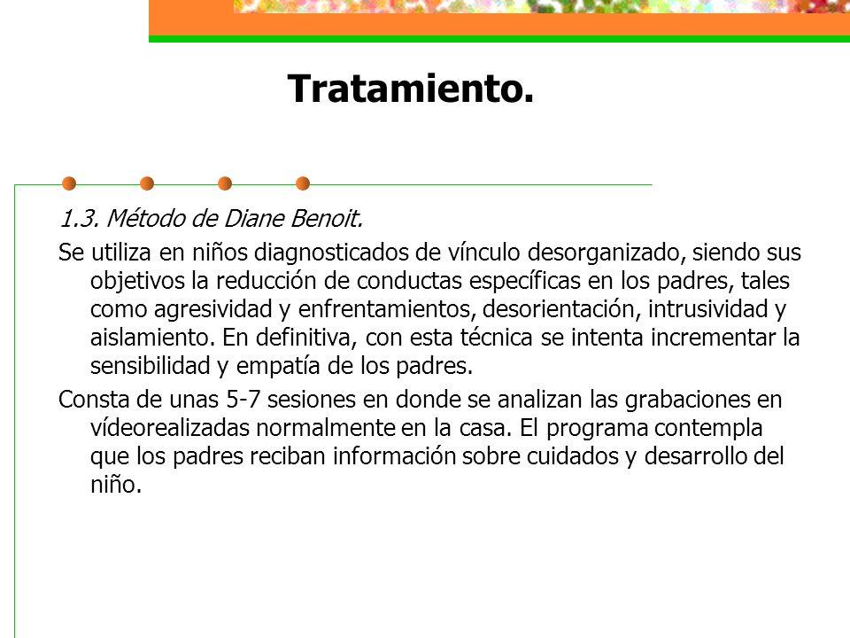 Tratamiento.1.3. Método de Diane Benoit.
