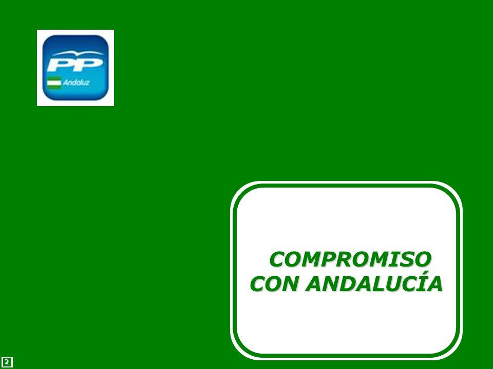 2 2 COMPROMISO CON ANDALUCÍA COMPROMISO CON ANDALUCÍA