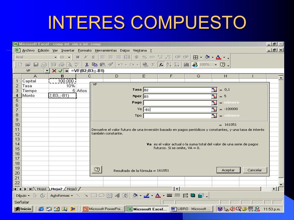 Rodolfo Enrique Sosa Gómez21 INTERES COMPUESTO