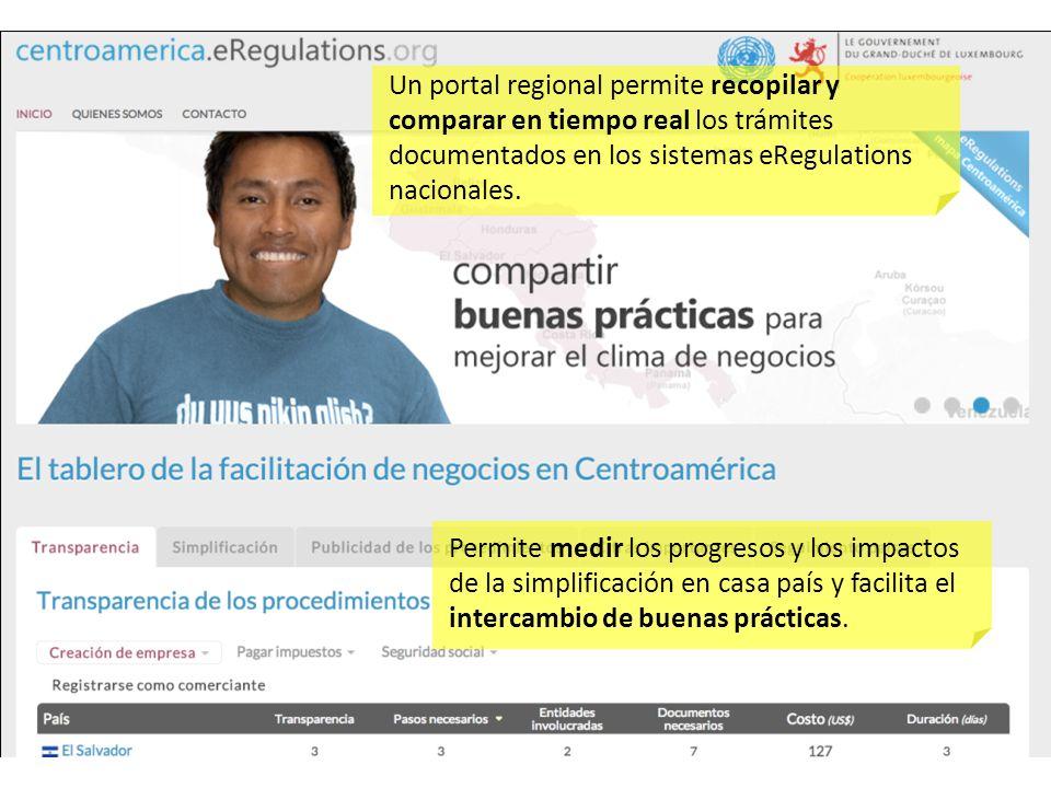Un portal regional permite recopilar y comparar en tiempo real los trámites documentados en los sistemas eRegulations nacionales.